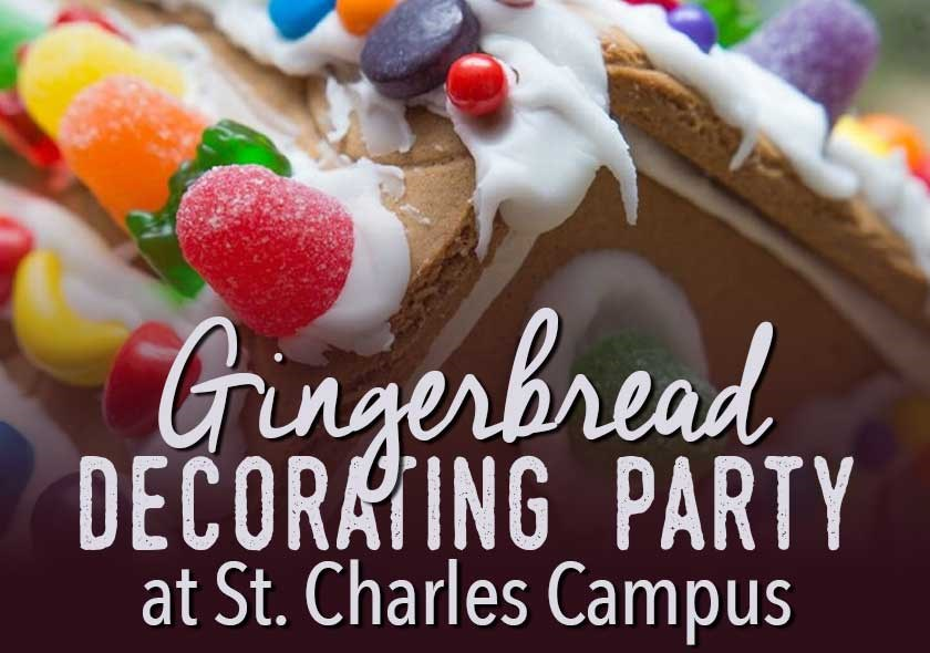 SC | Gingerbread House Decorating Party