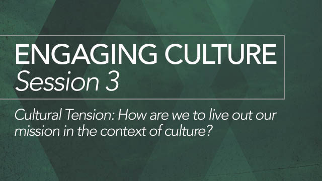 Engaging Culture: Session 3