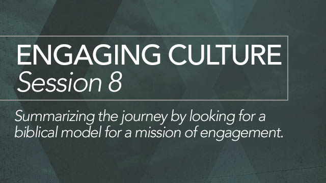 Engaging Culture: Session 8