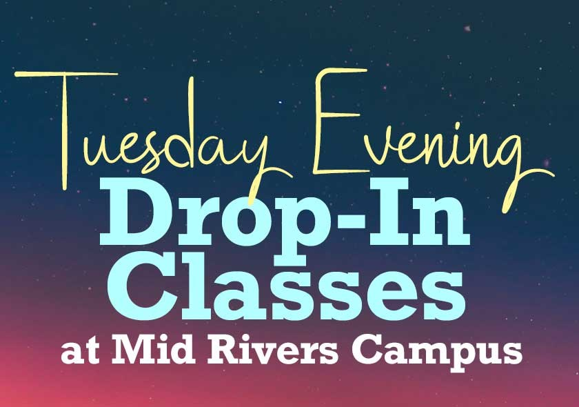 MR | Adult Drop-In Classes - Tuesday Evening Fall 2020