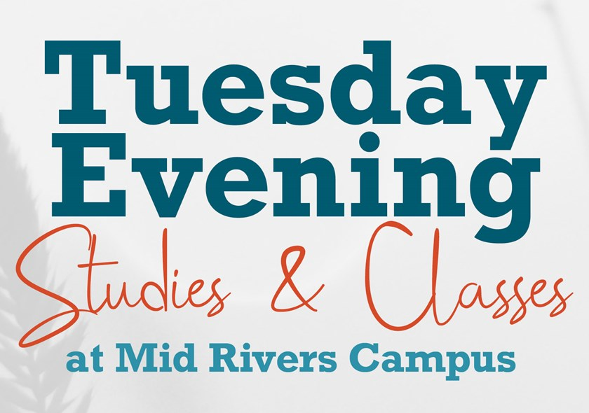 MR | Adult Tuesday Evening Studies & Classes Fall 2020